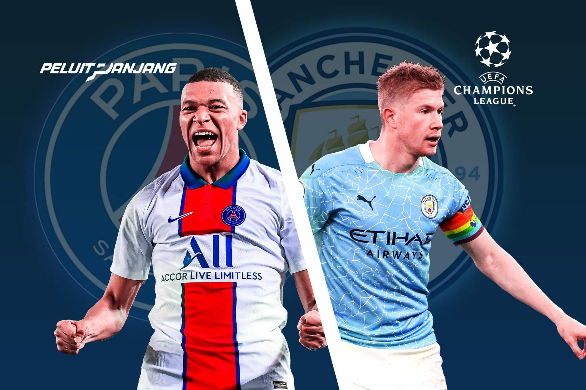 Perbedaan PSG-Manchester City
