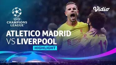 Atlético Madrid 2-3 Liverpool Pekan 3