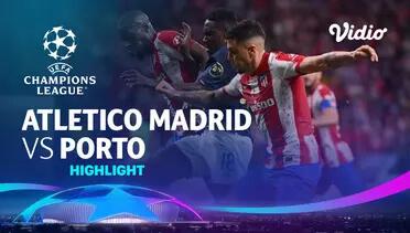 Atletico Madrid 0-0 Porto Pekan 1