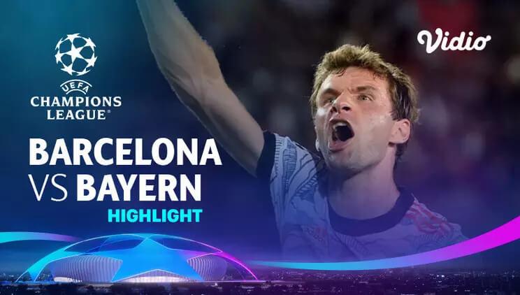 Barcelona 0-3 Bayern Pekan 1
