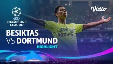 Besiktas 1-2 Dortmund Pekan 1