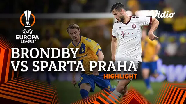 Brondby 0-0 Sparta Praha Pekan 1