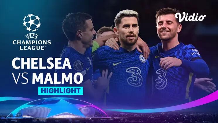 Chelsea 4-0 Malmö FF Pekan 3