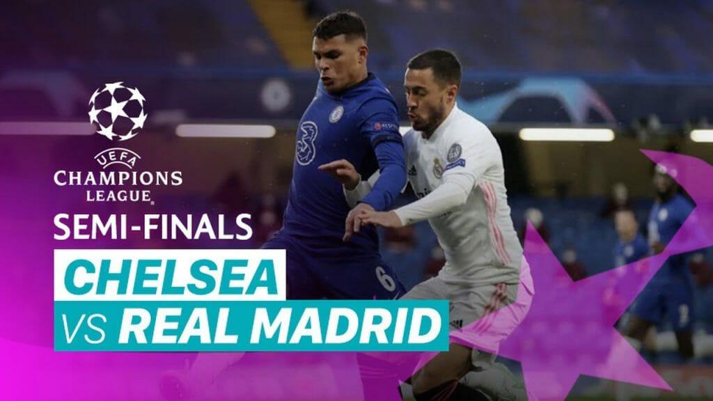 Chelsea 2-0 Real Madrid Semi-Final 2nd Leg
