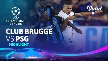Club Brugge 1-1 PSG Pekan 1