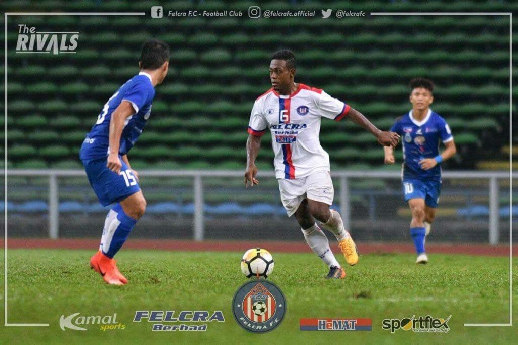 David-Laly-di-tim-Malaysia,-Felcra-FC