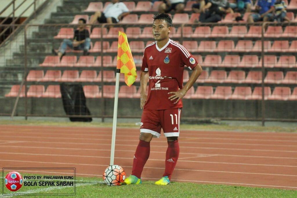 Dedi Kusnandar saat bermain di tim Malaysia, Sabah FC