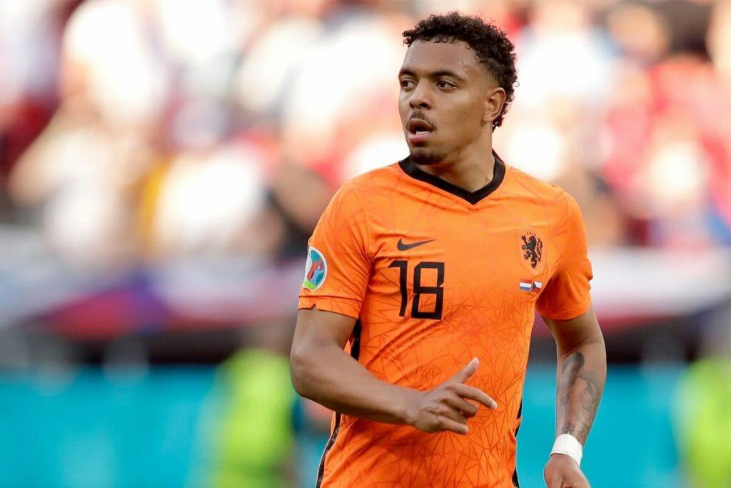 Donyell Malen saat di Euro 2020 bersama tim nasional Belanda