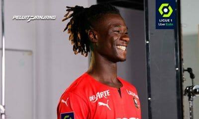 Eduardo Camavinga (Sumber: Facebook Stade Rennais)