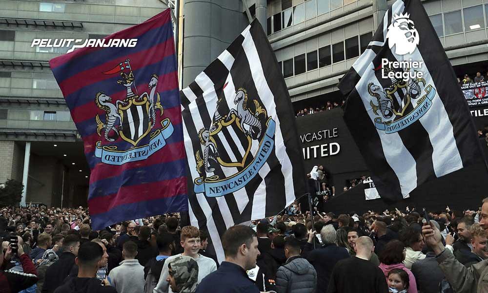 Fans Newcastle United Merayakan Akuisisi Arab Saudi (Kredit: Marca)