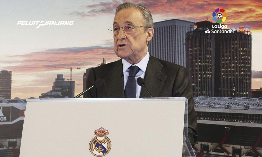 Liga Super Eropa. Florentino Perez, presidente Real Madrid