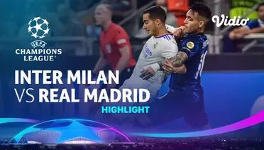 Inter Milan 0-1 Real Madrid Pekan 1