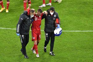 Joshua Kimmich cedera saat lawan Dortmund