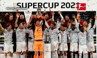 Julian Nagelsmann bersama FC Bayern Munchen juara DFL-Supercup 2021 (kredit: trendsmap.com)
