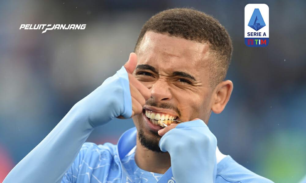 Berita transfer Juventus: Juventus Ingin Pinjam Gabriel Jesus dari Manchester City