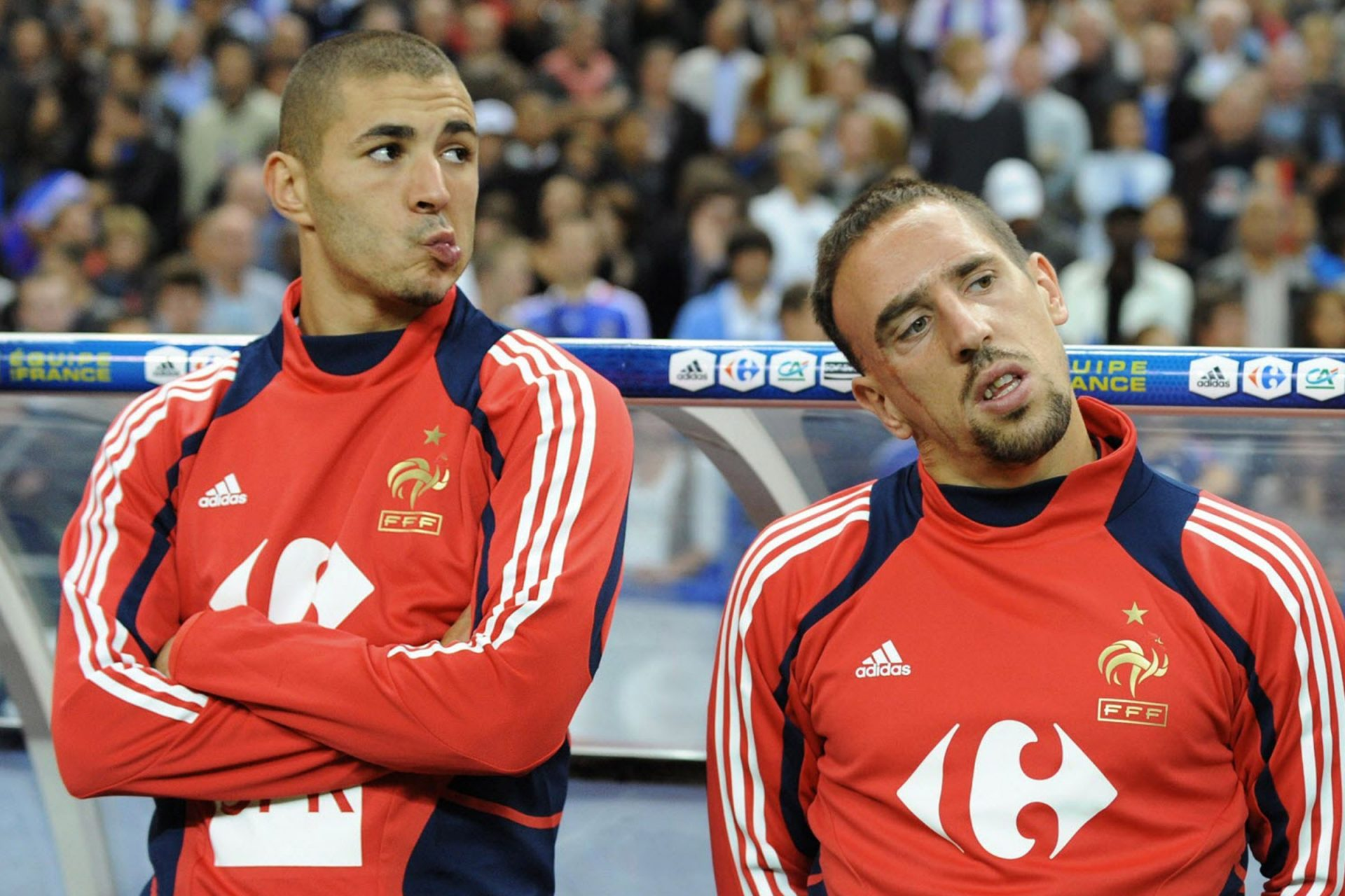 Benzema dan Franck Ribery