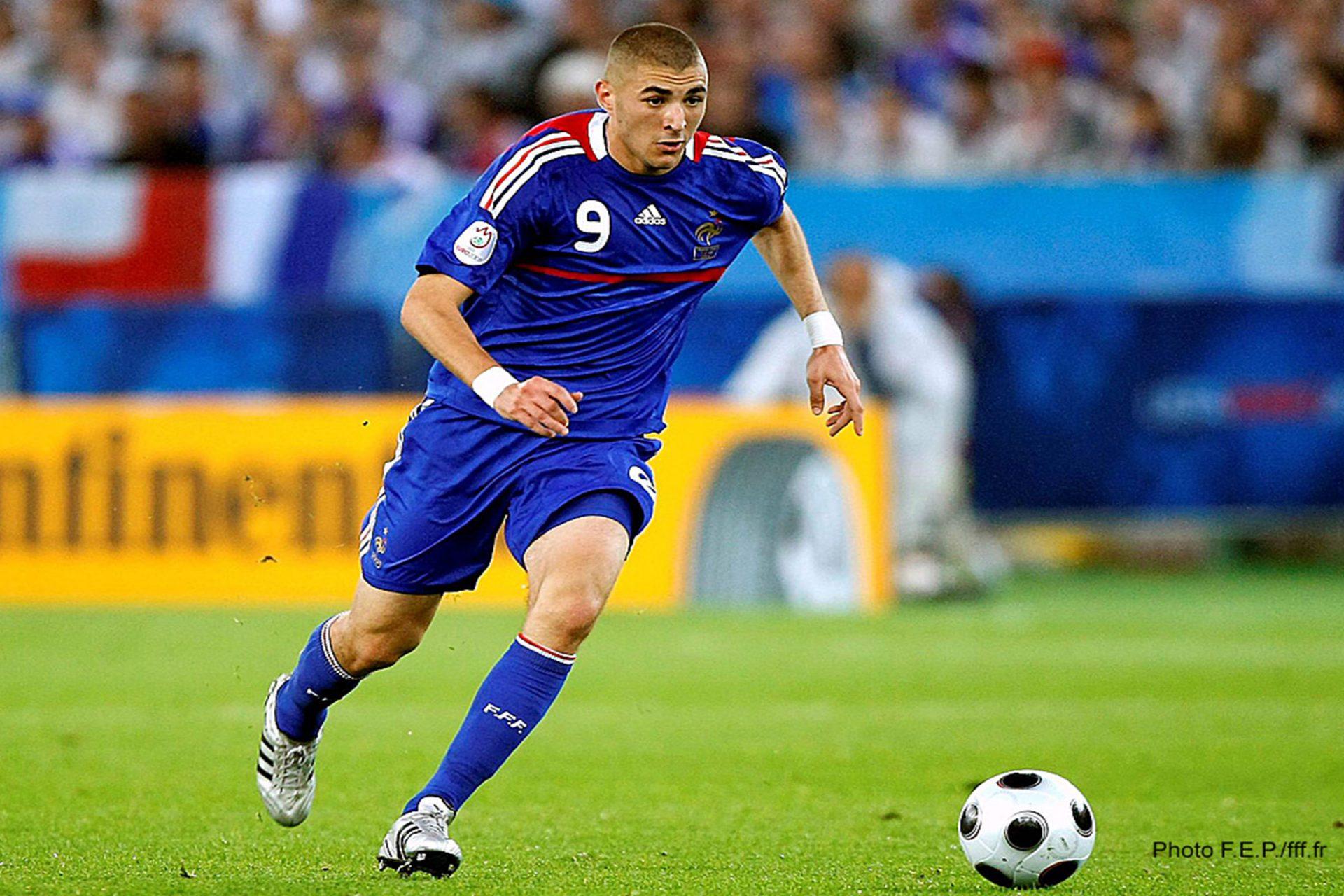 Karim Benzema di Euro 2008
