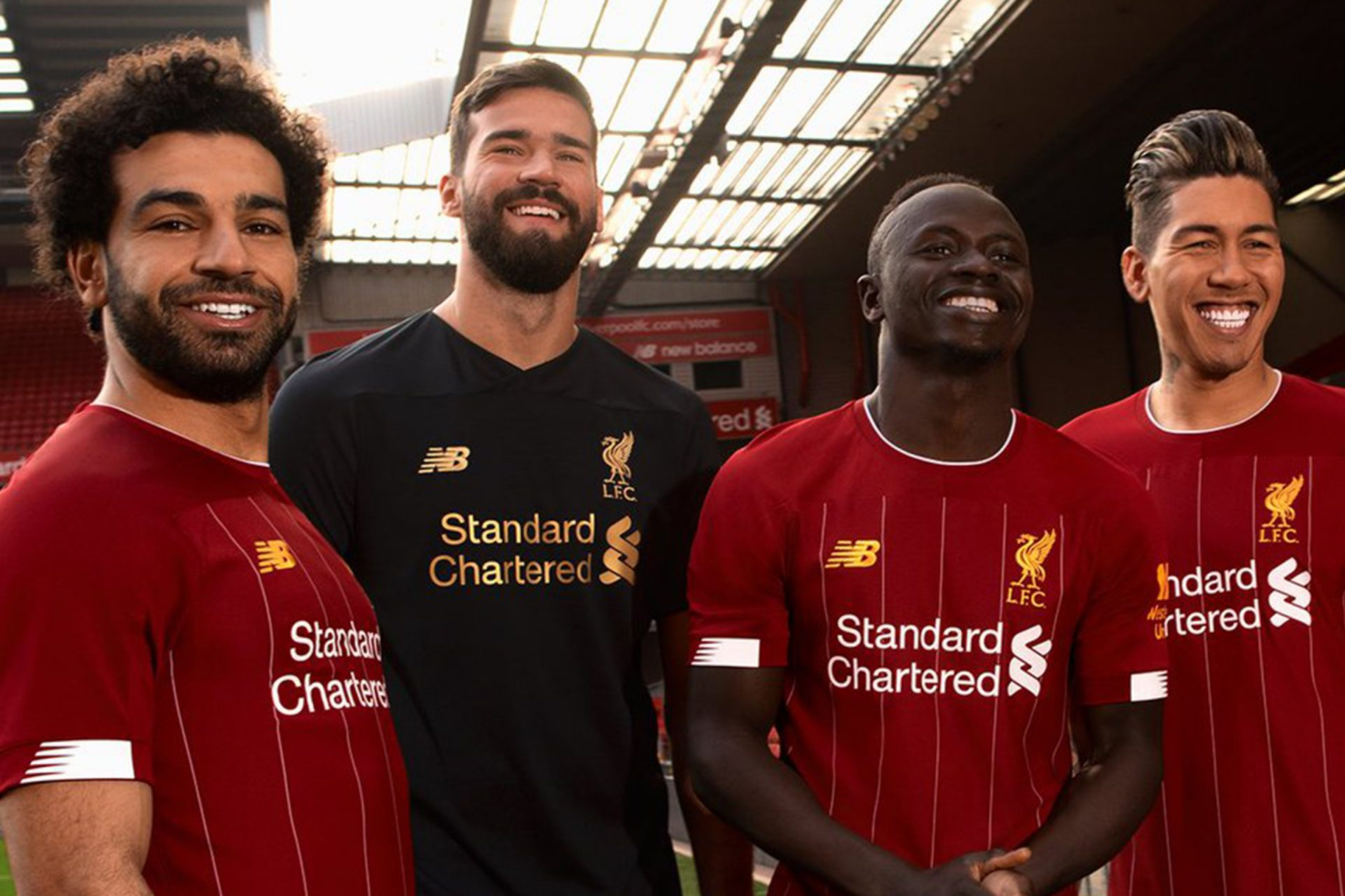 Launching jersey home 2019-2020 Liverpool