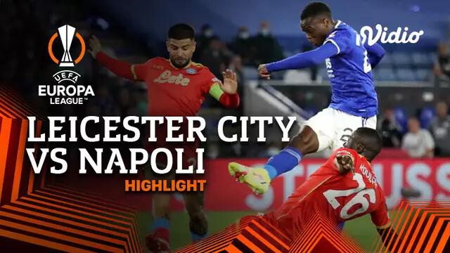 Leicester City 2-2 Napoli Pekan 1