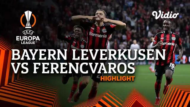 Bayern Leverkusen 2-1 Ferencvaros Pekan 1