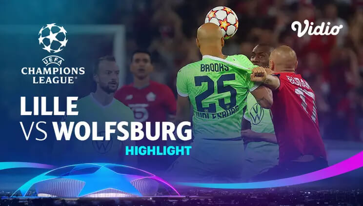 Lille 0-0 Wolfsburg Pekan 1