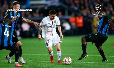 Lionel Messi vs Club Brugge (kredit: France 24)