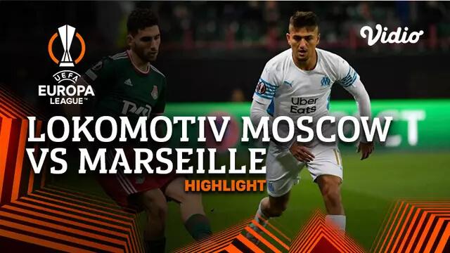 Lokomotiv Moscow 1-1 Marseille Pekan 1