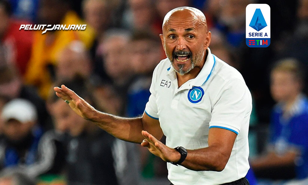 Luciano Spalletti, pelatih Napoli (kredit: corrieredellosport.it)