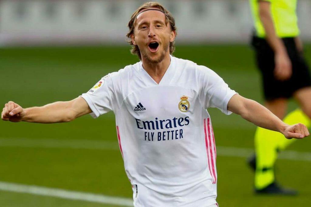 Luka Modric, kapten ke-4 dari Real Madrid mulai musim 2021-2022