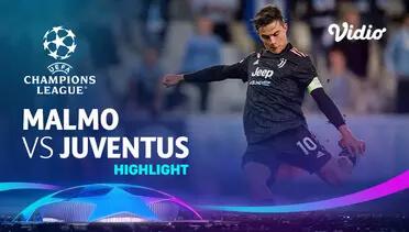 Malmo 0-3 Juventus Pekan 1