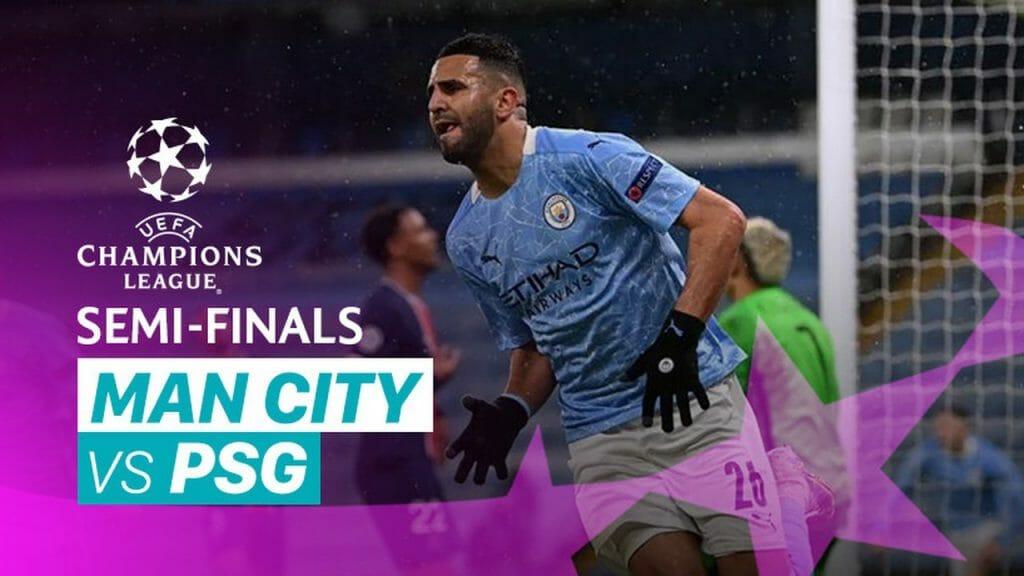 Man City 2-0 PSG Semi-Final 2nd Leg