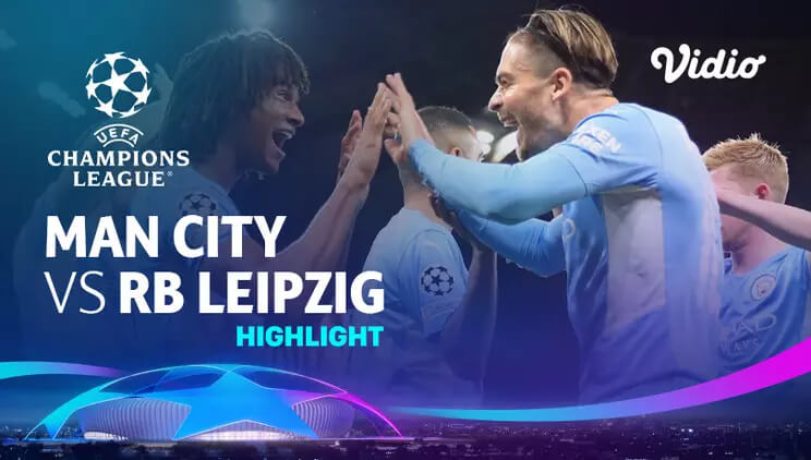 Manchester City 6-3 RB Leipzig Pekan 1