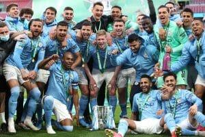 Manchester City juara League Cup 2021