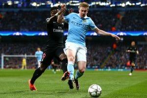 Pertemuan Manchester City-PSG di tahun 2016. Keduanya memiliki perbedaan.