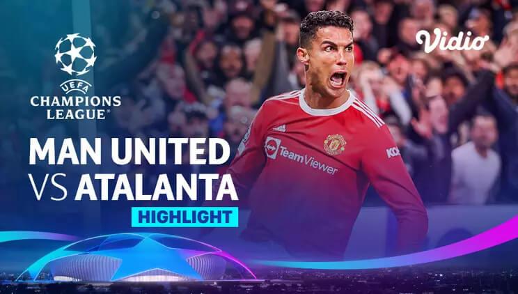 Manchester United 3-2 Atalanta Pekan 3