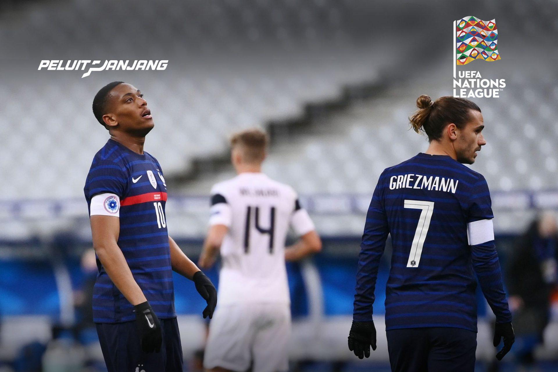 Martial dan Griezmann pemain timnas Perancis