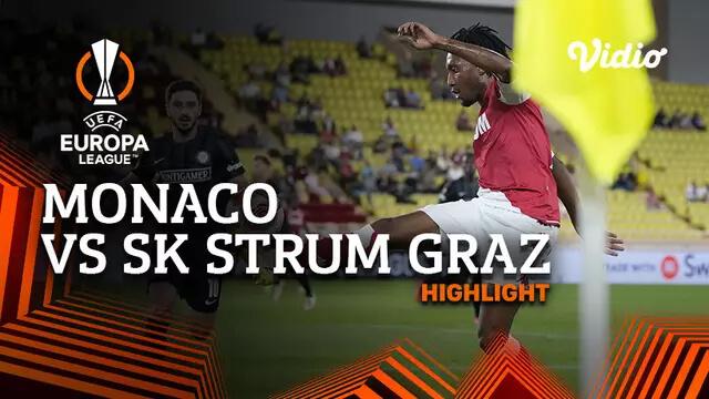 Monaco 1-0 SK Sturm Graz Pekan 1