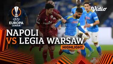 Napoli 3-0 Legia Warszawa Pekan 3