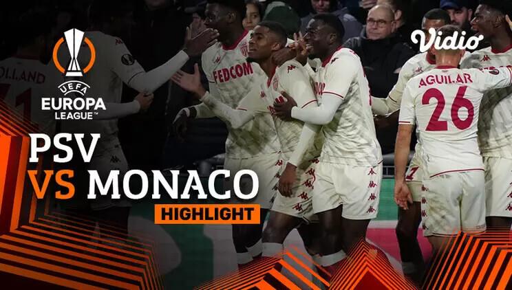 PSV Eindhoven 1-2 AS Monaco Pekan 3
