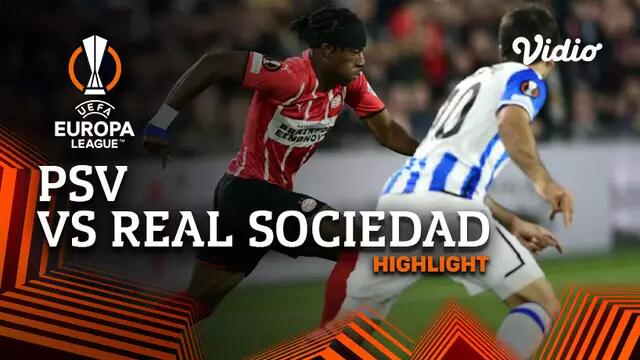 PSV 2-2 Real Sociedad Pekan 1