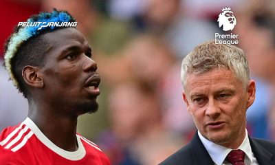 Paul Pogba dan Pelatih Manchester United, Ole Gunnar Solskjaer (Kredit: The Mirror)