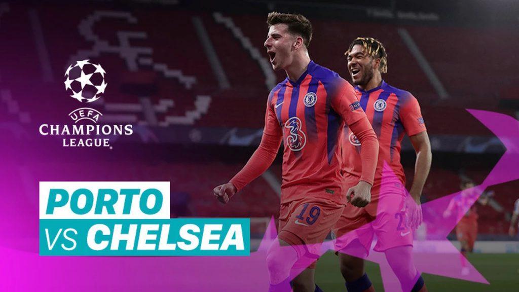 Porto 0-2 Chelsea Babak 8 Besar 1st Leg