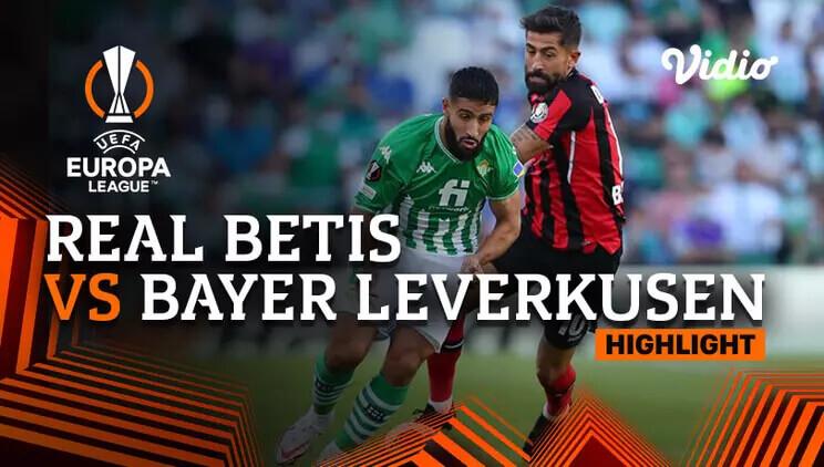 Real Betis Balompié 1-1 Bayer 04 Leverkusen Pekan 3