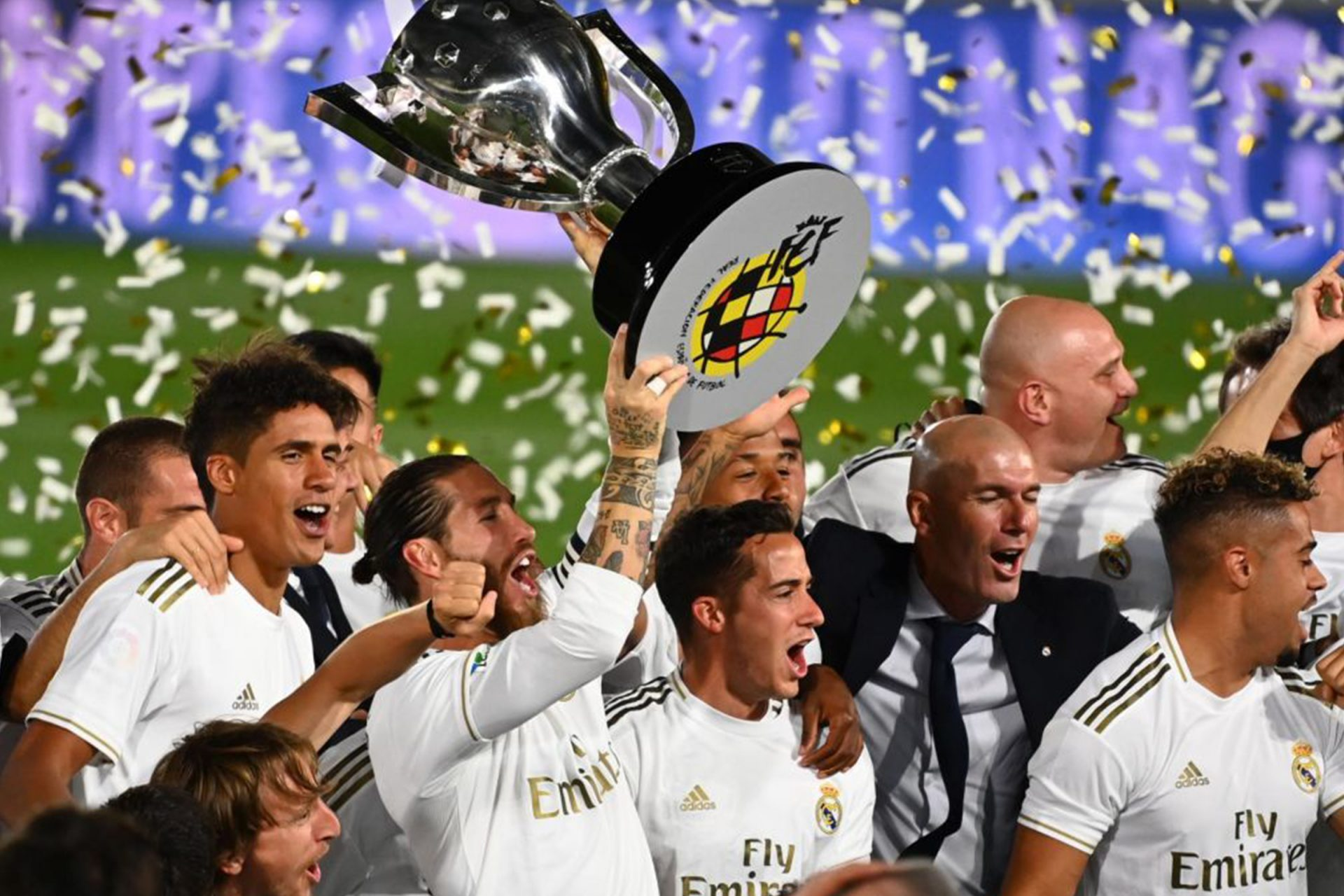 Real Madrid juara La Liga 2020