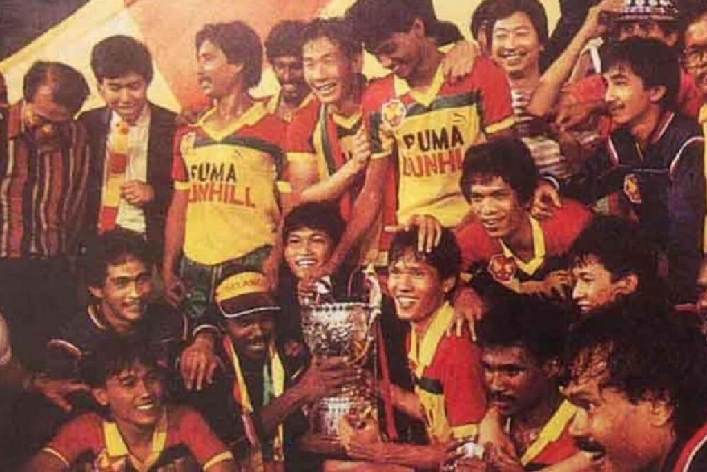 Ristomoyo Kasim, juara Malaysia Cup bersama Selangor FA