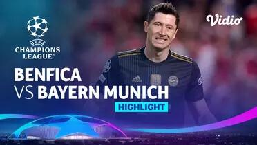 SL Benfica 0-4 Bayern München Pekan 3