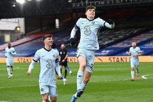 Selebrasi gol Kai Havertz vs Crystal Palace