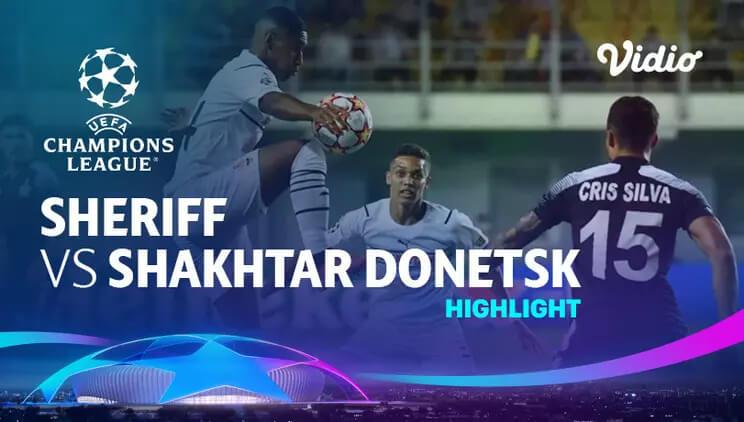 Sheriff 2-0 Shakhtar Donetsk Pekan 1