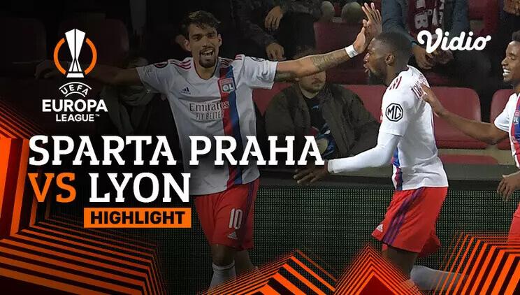 Sparta Praha 3-4 Olympique Lyonnais Pekan 3