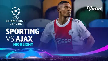 Sporting 1-5 Ajax Pekan 1